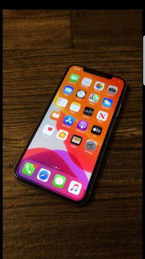 iPhone X with know condition for Sale in West Milford, WV
