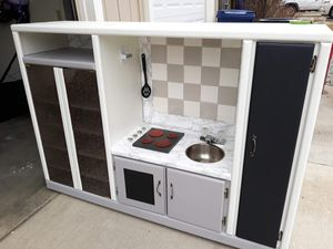Homemade kitchen set with table and chairs for Sale in Mead, WA