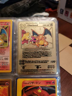Pokemon Charizard Gold for Sale in Spring Hill, FL