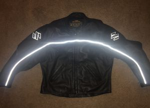 Leather Suzuki motorcycle jacket for Sale in Atlanta, GA