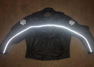 Leather Suzuki motorcycle jacket for Sale in Atlanta, GA