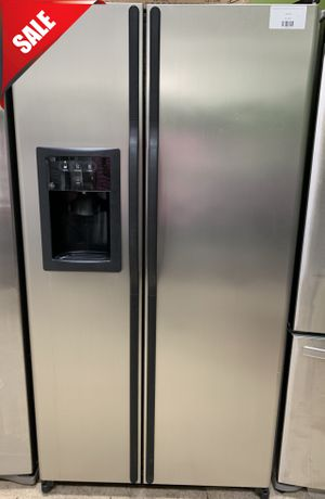 🌟🌟Stainless Steel Refrigerator Fridge GE Side by Side #764🌟🌟 for Sale in Orlando, FL