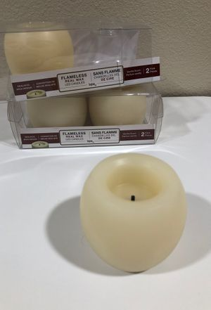 Flameless real wax LED candles *NEW for Sale in Mount Vernon, WA