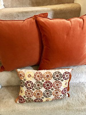 MOVING SALE. Couch pillows for Sale in Arlington, VA