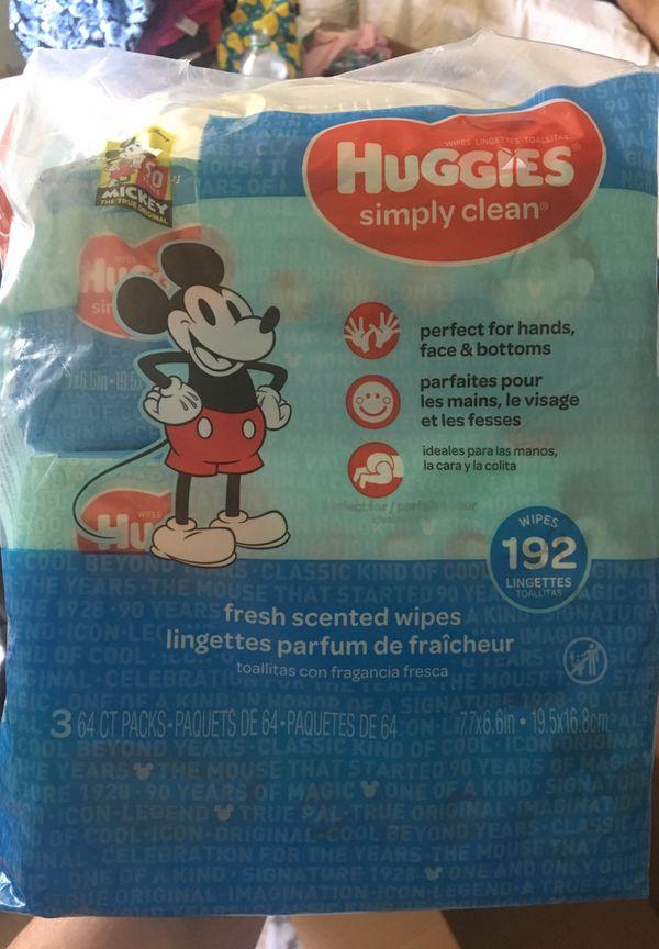 Huggies wipes 193ct