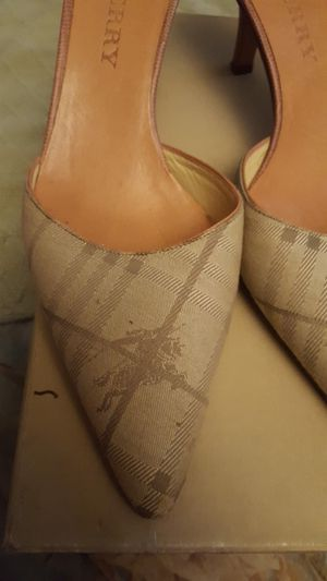 Burberry Mules size 35 1/2 for Sale in West Palm Beach, FL