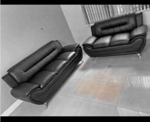 Brand New Sofa Plus Love Seat. Brand New in Box. ($40 down. No credit check Financing) for Sale in Miami Lakes, FL