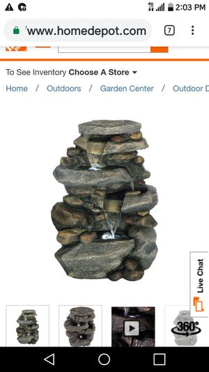 Outdoor Fountain for Sale in Fairfax, VA