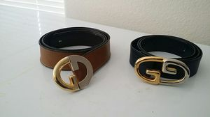 Sinturones gucci talla 34 for Sale in Las Vegas, NV