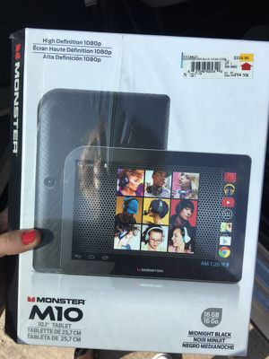 """10 inch Tablet """"monster"""" for Sale in Dallas, TX"""