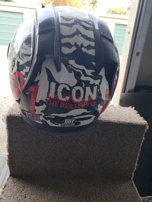 Icon berserker street helmet for Sale in Paradise, CA