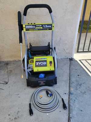 RYOBI Reconditioned 2,000 PSI 1.2 GPM Electric Pressure Washer for Sale in Westminster, CA