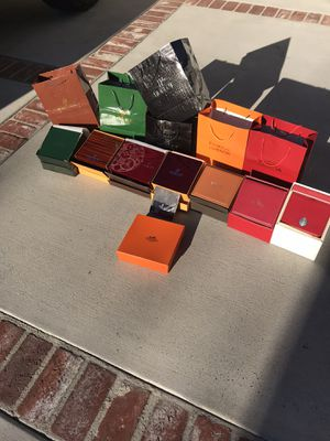 Jewelry watch boxes for Sale in Orange, CA