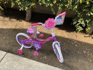 Girls Disney princess huffy bike 16 inch for Sale in Glendora, CA