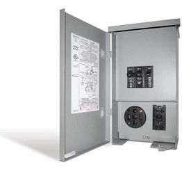 Connecticut Electric 60 Amp RV Panel Outlet with 50 Amp Receptacle, Breakers and GFCI Duplex Home and Garden TX for Sale in Sugar Land,  TX
