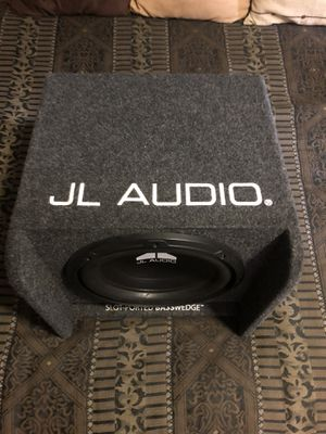 Subwoofer and Amp for Sale in Parker, CO