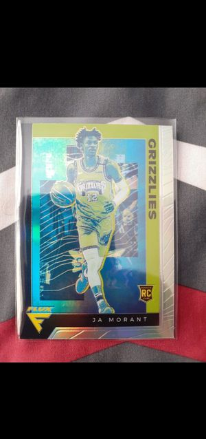 9 JA Morant Rookie Cards $200 FIRM ( NO LOW BALLERS) for Sale in Cleveland, OH