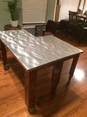 Aluminum solid table set for Sale in Cary, NC