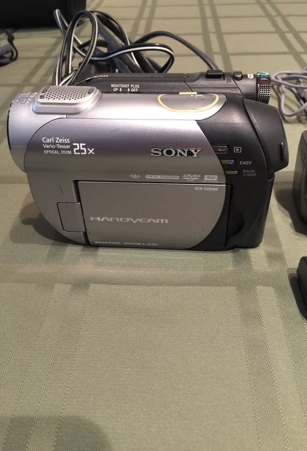 Sony HANDYCAM Model: DCR-DVD308