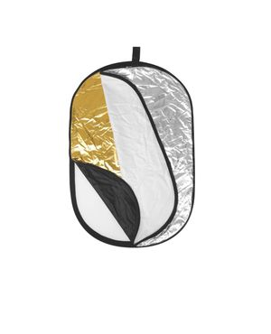 """Neewer Portable 5 in 1 120x180cm/47""""x71"""" Translucent, Silver, Gold, White, and Black Collapsible Round Multi Disc Light Reflector for Sale in Bend, OR"""