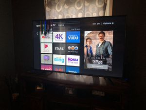 55 inch 2k smart tv. Sharp brand for Sale in Elyria, OH