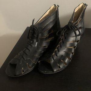 Black Peep Toe Wedge Heel, Size 8 for Sale in Pembroke Pines, FL