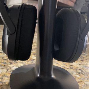 Sony Wireless Stereo Headphones MDR-RF985R & Transmitter TMR-RF985R Black for Sale in Dallas, TX