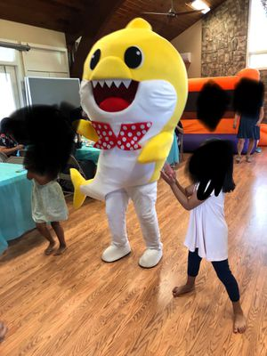 Baby Shark Mascot Costume for sale for Sale in Natick, MA