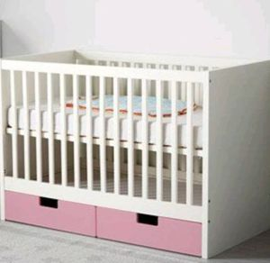 Baby/toddler crib with changing table for Sale in Denver, CO
