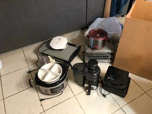 Miscellaneous kitchen appliances - still available! Make me an offer! for Sale in Phoenix, AZ