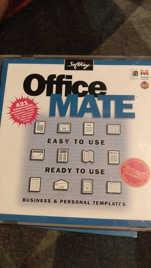 Softkey office mate for Sale in Sacramento, CA