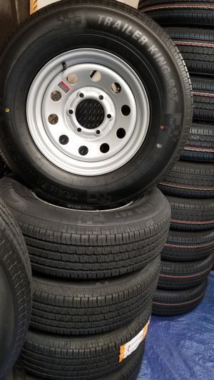 Trailer TIRES and WHEELS NEW TIRE/WHEEL $70 AND UP for Sale in Douglasville, GA