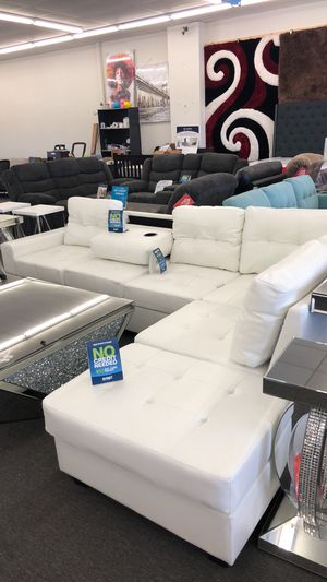 White couch set for Sale in Houston, TX