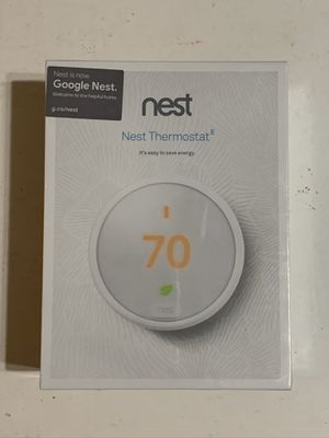 Google Nest Thermostat E T4000ES for Sale in Garden Grove, CA