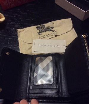 Authentic Burberry leather wallet for Sale in Houston, TX