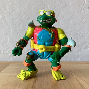 Vintage Teenage Mutant Ninja Turtles Mike Sewer Surfer Action Figure TMNT Toy for Sale in Elizabethtown, PA
