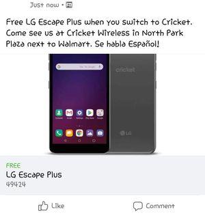 LG Escape Plus for Sale in Holland, MI