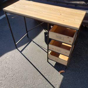 Rae Dunn Desk/Vanity Table for Sale in Riverside, CA