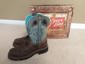 Women's designer work boots for Sale in Raleigh, NC