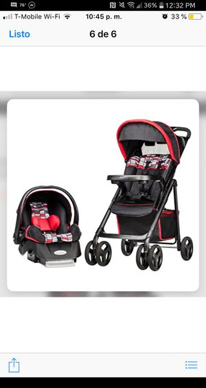 Evenflo stroller with carseat combo for Sale in Dallas, TX