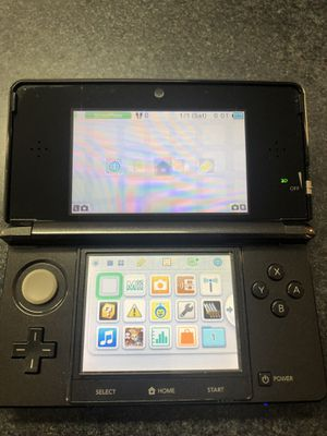 Nintendo 3DS - Black - missing stylus for Sale in Griswold, CT