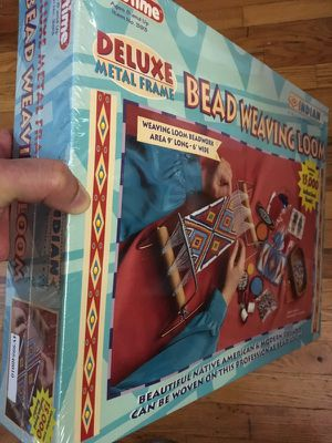 Indian bead weaving loom beadwork for Sale in New York, NY