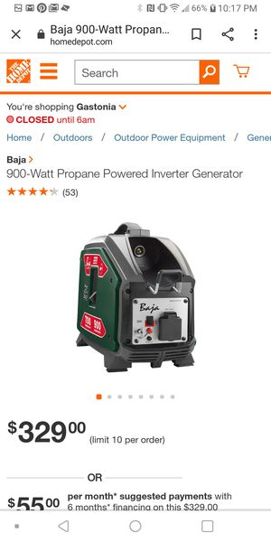 Generator for Sale in Alexis, NC