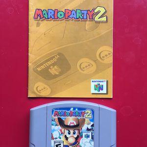 Nintendo 64 N64 Game Mario for Sale in Ventura, CA