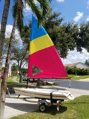 ZUMA SAILBOAT w/ trailer for Sale in Fort Lauderdale, FL