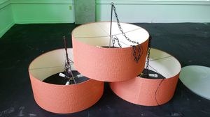 3 large old school style lamp shades for Sale in Seattle, WA