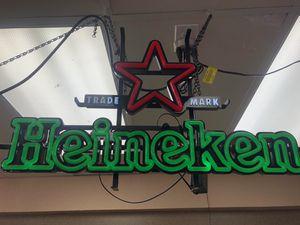 Heineken neon for Sale in El Cajon, CA