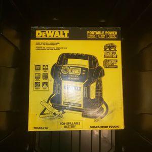 Dewalt Jump Started UsB Power Digital Air Compressor for Sale in Phoenix, AZ