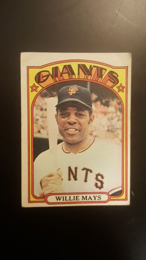 1972 Willie Mays for Sale in Baltimore, MD