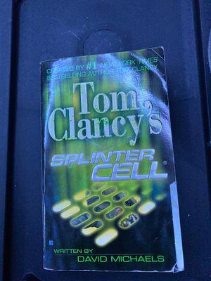 Splinter Cell book for Sale in Oakley, CA
